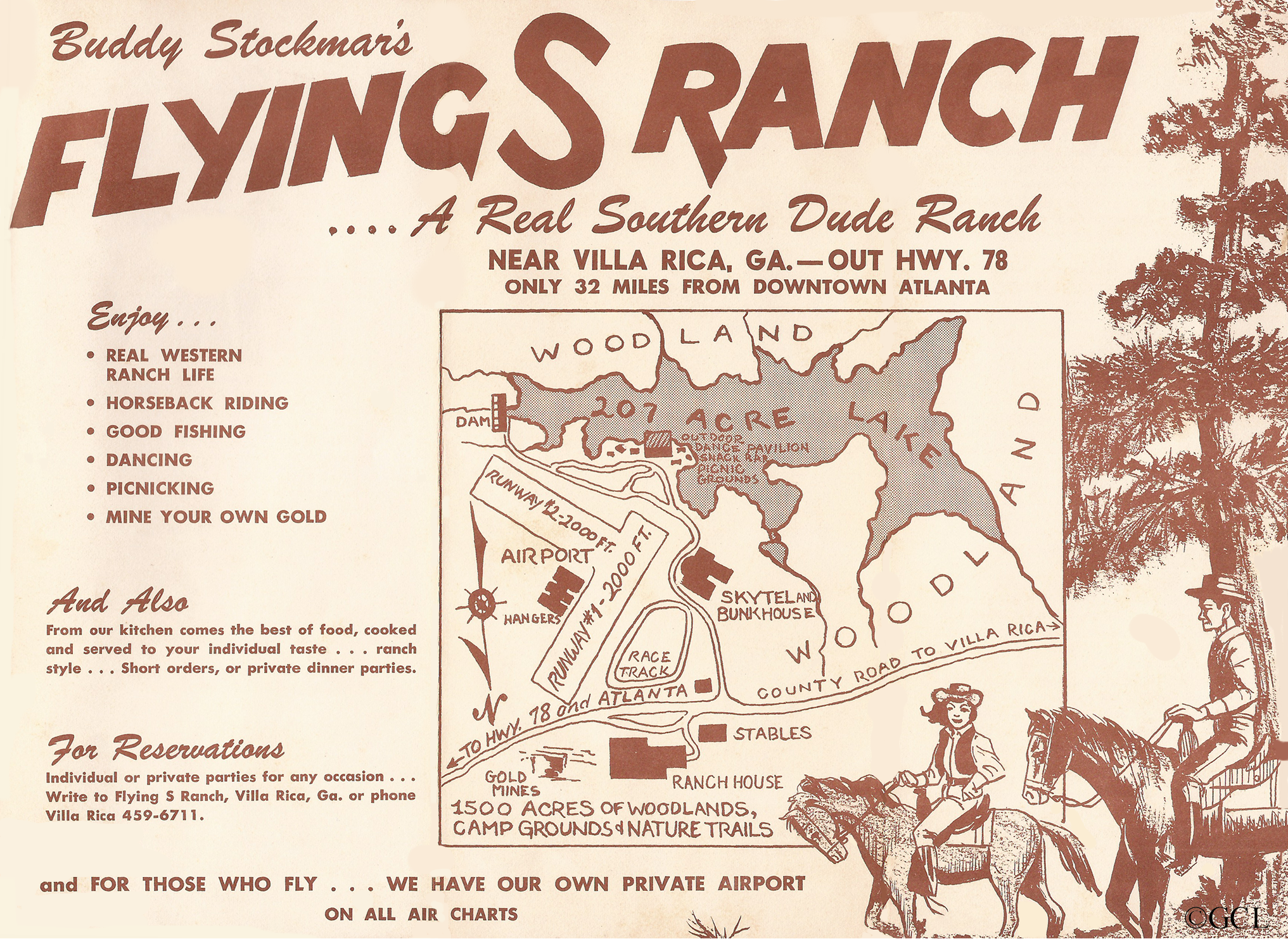 Flying S Ranch & Stockmar Gold Mine